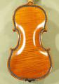Rare 4/4 MAESTRO VASILE GLIGA Violin | Manually Inlayed Bone and Ebony Purfling | Copy of Famous 'Hellier 1679' - Code C6986V