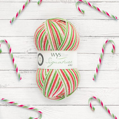 Signature 4-ply in Candy Cane from West Yorkshire Spinners