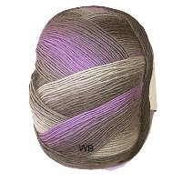Jawoll Magic Degrade 4-ply Superwash sock yarn in Grey and Violet Shade