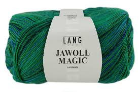 Jawoll Magic 4-ply Superwash sock yarn in Kingfisher mix shade