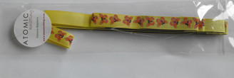 Atomic Knitting Set of 3 Pattern Markers - Butterflies on yellow