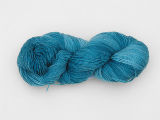 Stellar Sock yarn in Teal