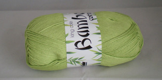 King Cole Bamboo Cotton Double Knit yarn in Green