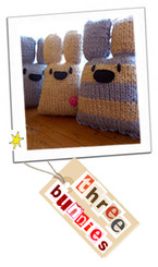 Three Bunnies Knit Kit