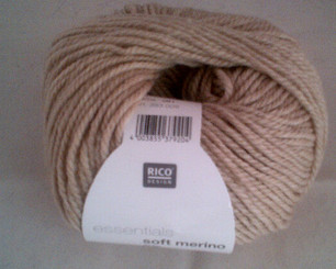 Rico Essentials Soft Merino Aran in Beige