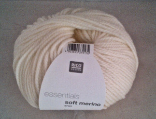 Rico Essentials Soft Merino Aran in Natural