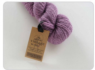 Erika Knight Vintage Wool in shade 11 Wisteria