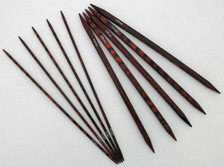 Knit-Pro Cubics 15cm Double Pointed Needles in Symfonie Rose