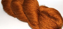 Fyberspates Scrumptious Lace Yarn in Ysolda colour of  Treacle Toffee