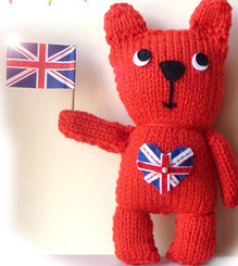 Great British Bear Knit Kit