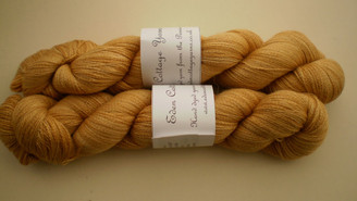 Eden Cottage Pegasus Lace Yarn in Harvest Gold