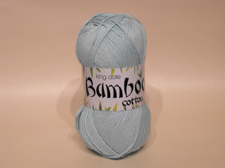 King Cole Bamboo Cotton Double Knit yarn in Mint