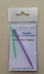 The Yarn Cafe Plastic blunt  sewing needles