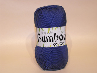 King Cole Bamboo Cotton Double Knit yarn in Blue