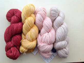 Exclusive DK Alpaca & Silk Yarn from The Knitting Goddess