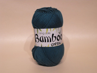 King Cole Bamboo Cotton Double Knit yarn in Opal