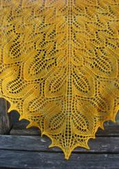 Sunflower Shawl pattern from Tin Can Knits