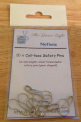The Yarn Cafe Coil-less Safety Pins