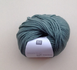 Rico Essentials Soft Merino Aran in Sage