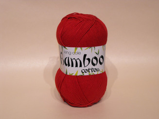 King Cole Bamboo Cotton Double Knit yarn in Claret