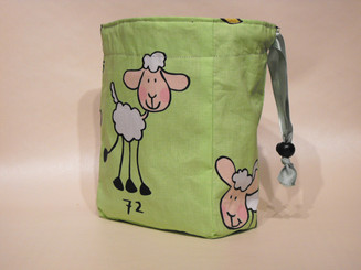 Small Project Bag - Counting Sheep