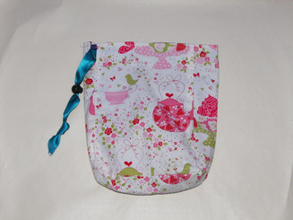 Small Project Bag - Afternoon Tea