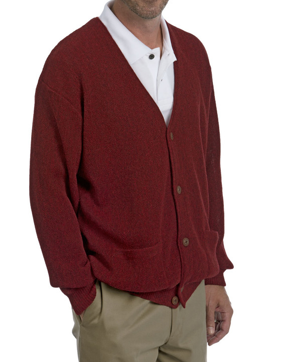 Men's Alpaca Button Down Cardigan Sweater with Pockets | Alpaca ...