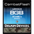 Delkin Devices 8Gb CombatFlash UDMA CompactFlash Card 9 day/36 week/72 month