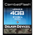 Delkin Devices 4Gb CombatFlash UDMA CompactFlash Card 6 day/24 week/48 month