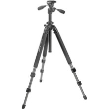 Slik Pro 500DX Tripod with 3-Way Pan/Tilt Head  15 day/60 week/120 month