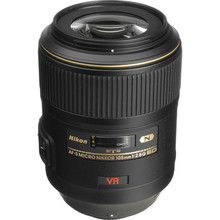 Nikon 105mm f/2.8G ED-IF AF-S VR  Macro Autofocus Lens 25 day/100 week/200 month