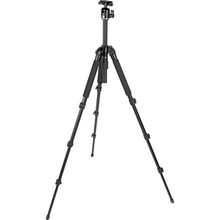 Slik Pro 340 BH 4-Section Tripod w/ SBH-200DQ Ballhead - Supports 8.8 lbs 12.50 day/50 week/100 month