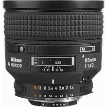 Nikkor AF 85mm f/1.4D IF  30 day/120 week/240 month