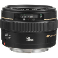 Canon Normal EF 50mm f/1.4 USM Autofocus Lens 18 day/72 week/144 month