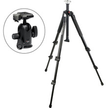 Manfrotto 055XB Tripod Legs Kit w/ 498RC2 Midi Ball Head & 200PL-14 QR Plate  17 day/68 week/136 month