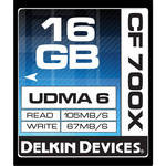 Delkin 16GB CompactFlash Memory Card 700x UDMA 11 day/44 week/88 month