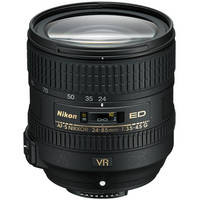 Nikon AF-S NIKKOR 24-85mm f/3.5-4.5G ED VR Lens  28 day/112 week/224 month