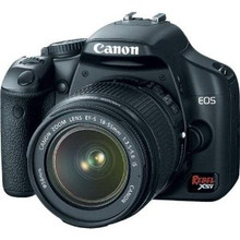 Canon Rebel XSi 12.2 MP Digital SLR Camera and Battery Grip w/ Tamron 18-200 f/3.5-6.3 40 day/120 week/240 month