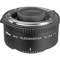 Nikon TC-17E II 1.7x Teleconverter for AF-S 15 day/60 week/120 month
