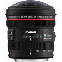 Canon EF 8-15mm f/4L Fisheye USM Lens 35 day/140 week/280 month