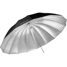 Westcott 7' Parabolic Umbrella (Silver) w/Diffusion Sock 10 day/40 week/80 month