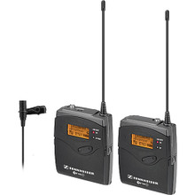 Sennheiser ew 112-p G3 Camera-Mount Wireless Microphone System with ME2 Lavalier Mic - A (516-558 MHz)  25 day/100 week/200 month