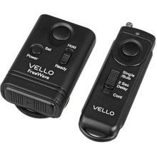 Vello FreeWave Wireless Remote Shutter Release for Canon w/3-Pin Connection 5.00 day/20 week/40 month