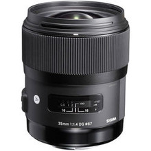 Sigma 35mm f/1.4 DG HSM Art Lens for Canon  40 day/160 week/320 month