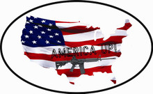 America UP! Auto Decal