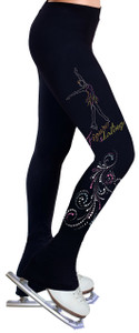CopSkating Pants with Spangles S104A