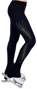 Skating Pants with Spangles S113
