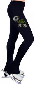 Skating Pants with Rhinestones R53