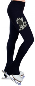 Skating Pants with Rhinestones R133