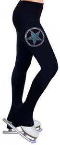 Skating Pants with Rhinestones R139
